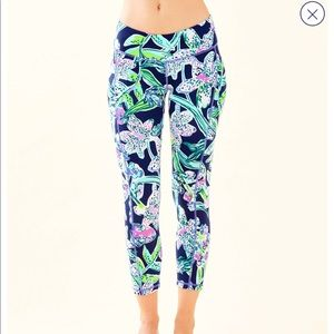 LILLY PULITZER SWAY THIS WAY LUXLETIC LEGGINGS XL